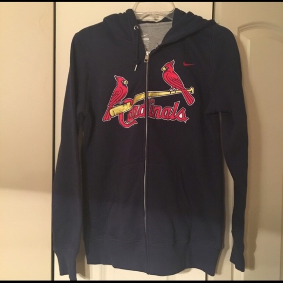 Nike Tops | St Louis Cardinals Hoodie